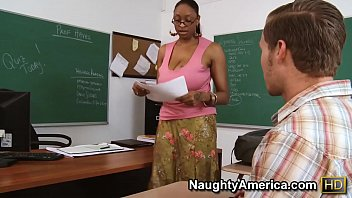 Carmen Hayes fucks her student after class
