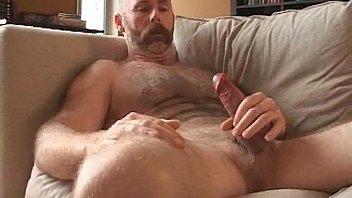 Gay bear brett logan jerking his wanger