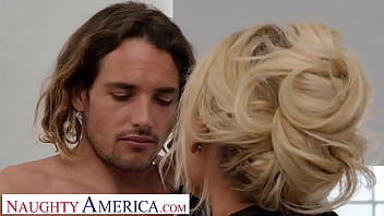 Naughty America - Blonde MILF can't get enough of Tyler's hard dick
