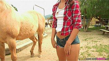 Teen love huge cock