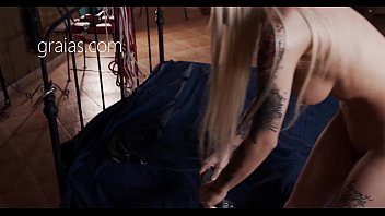 Watch Slutty blonde accepts her_role as a slave preview