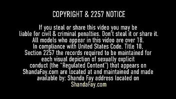 Big Ass Big Tits Cougar Shanda Fay wants to relax today with a nice oiled up butt massage and wild balls deep doggystyle until she gets an anal creampie! Full Video & Shanda Fay Live @ ShandaFay.com!