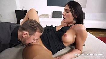 Beautiful brunette, Katy Rose is a cock hungry cheater who gets her tight butthole banged by a raging hard convict cock who spews his man milk all over her! Full Flick & 1000s More at Private.com!