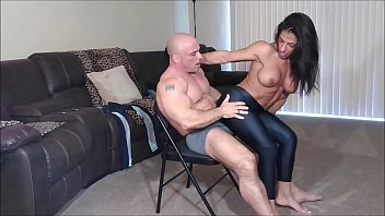 Alexis grinds on my cock in spandex then rides me Thumbnail