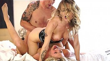 Wife threesome blonde girl