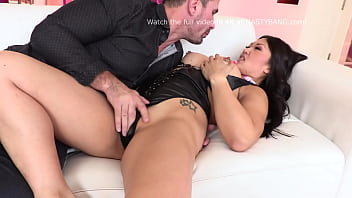 Perfectly Big Asian Boobs and Pussy for White Dude