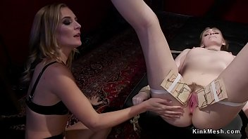 Brunette_slave_was_in_rope_bondage_and_gagged_on_the_floor Thumbnail