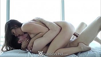 Passion-HD Tit massage makes brunette...