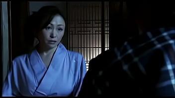 Japanese milf rides husbands cock