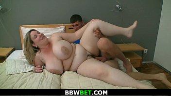 Big-cocked burglar bangs big boobs plumper