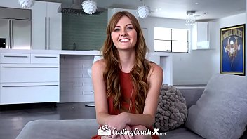 CastingCouch X Blue eyed redhead Miley Cole fucks casting agent Thumbnail