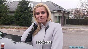 Public Agent Desperate MILF Black Canary Fucks for a Job