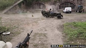 Brazzers - Pornstars Like it Big - Cock Of Duty A XXX Parody scene starring Jasmine Jae Monique Alex
