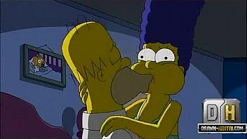 Homer simpson licks meg griffin pussy as his wife sucks