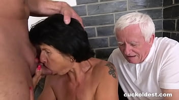 Old couple tries to cuckold
