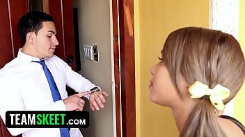 My b. Sitters Club - Naughty Nanny (Liza Rowe) Fucks Boss