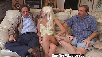 Thin Blonde Wife Pimped Out by Hubby Thumbnail