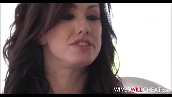 sexy brunette cheating wife jennifer white fucks her husbands bff who has a huge cock