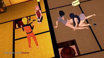 Hinata Sex Scene With Sasuke Cheat on Naruto 3D