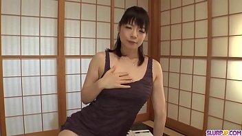 Hot japan girl Nao Mizuki suck a dick