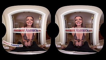 Sybil Stallone fucks you in Virtual Reality only NaughtyAmerica can deliver