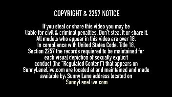 Sweet VNA Lesbian, Sunny Lane, pussy fucks world famous Cougar, Vicky Vette, who doesn't just cum but tongue fucks her loyal soldier until they both orgasm! Full Video & Sunny Live @ SunnyLaneLive.com