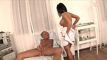 Excited pacient fucks sexy nurse