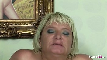 Watch BBW Granny Seduce Teen Boy to Fuck her Big Pussy Deep and Rough preview
