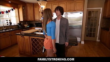 Hot Young Petite Stepsister Kirsten Lee And Her Stepbrother Fuck In The House During BBQ On The Fourth