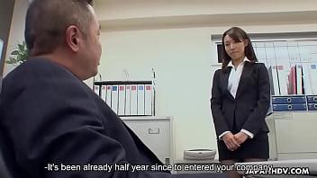Watch japanhdv New Office Lady Anna Takizawa scene1 trailer preview