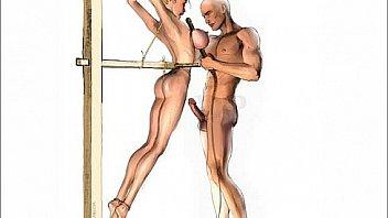 Chastity belt bondage femdom