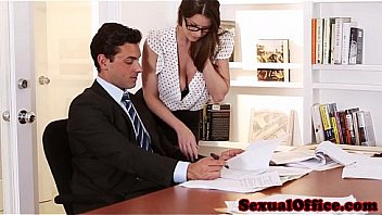 Sexy Secretary brooklyn chase gets banged by her boss