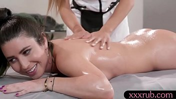 Beautiful Russian masseuse Serena Blair 69ing with her sexy client Ayumi Anime after a relaxing body massage