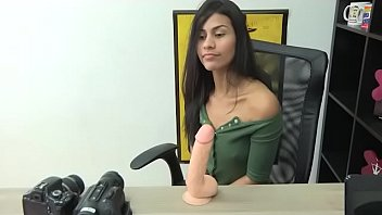 Watch Andrea is an UNDOCUMENTED UNEMPLOYED latina, ready to have her first MONSTERCOCK to have her chance in porn. preview