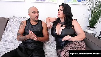 Watch Huge Ass & Massive Boobed Cuban, Angelina Castro, shares a big black cock with world famous Milf Sara Jay, milking it until they get their cum! Full Video & Angelina Live @ AngelinaCastroLive.com! preview