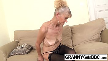 Granny gets the cock