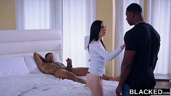 BLACKED She did not expect to be double penetrated by two BBC
