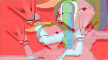 Rainbow Dash getting banged