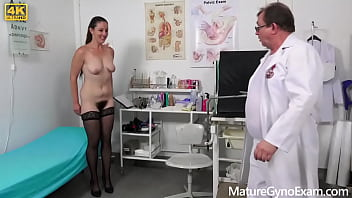 Old pussy exam of hairy senior cunts