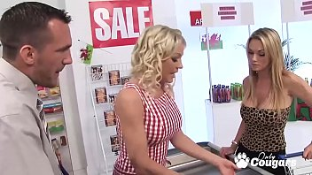 British Cougars Cindy Behr And Paige Ashley Bang The Market Manager