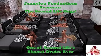 The Second Life Orgy