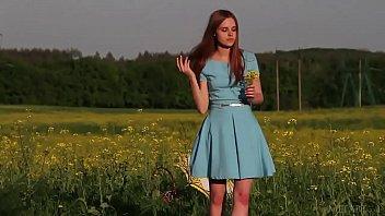 Ukrainske skonhed Canara offentlig afkl?dning...