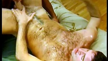 sweaty gay bears Jesse and Sam cumming