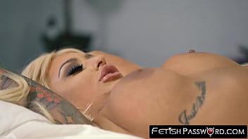 Busty blonde pornstar fucked roughly