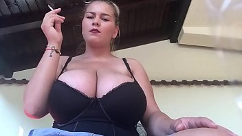 blonde with big tIts 2