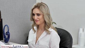 Naughty America - Mazzy Grace and Ryan Driller FUCK in Naughty Office