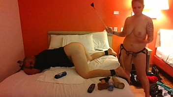 Submissive Guy Likes To Be Dominated By Strapon Fucking