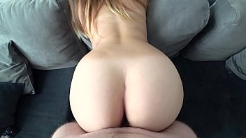 Watch Student after study with a big and juicy ass in gray panties fucks like a princess preview
