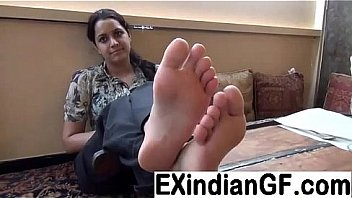 Amateur Indian foot fetish