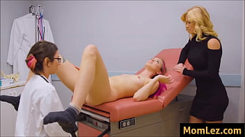 Watch Horny_gynecologist_fucks_patient_and_her_Mom preview